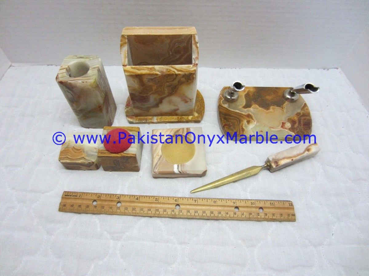 Onyx Office Accessories Set-14