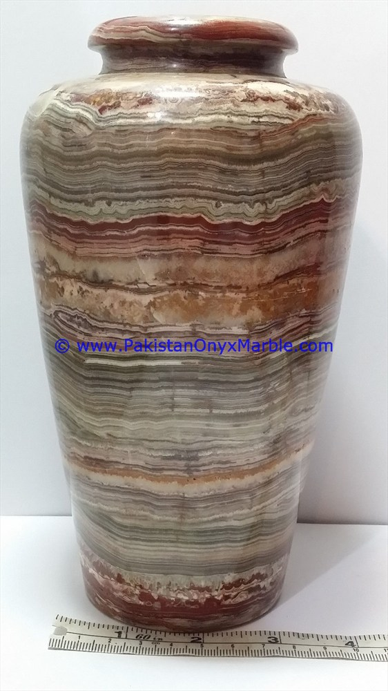 Onyx Vases Multi Green Onyx Handcrafted Natural Stone Flower Vases