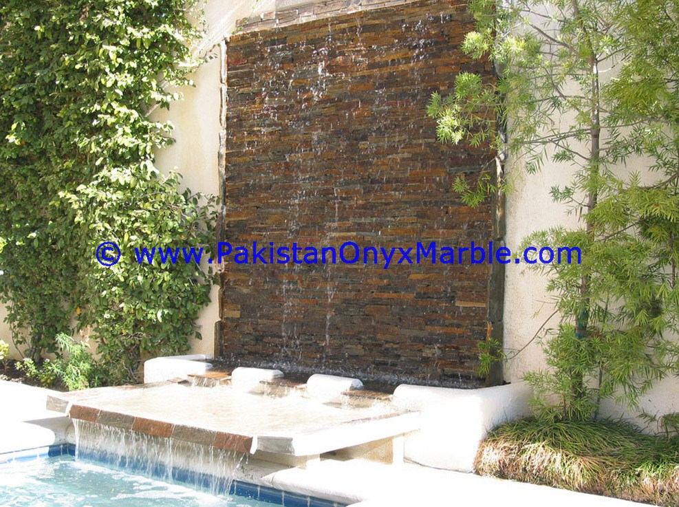 Marble Fountains Handcarved Wall Marble 02