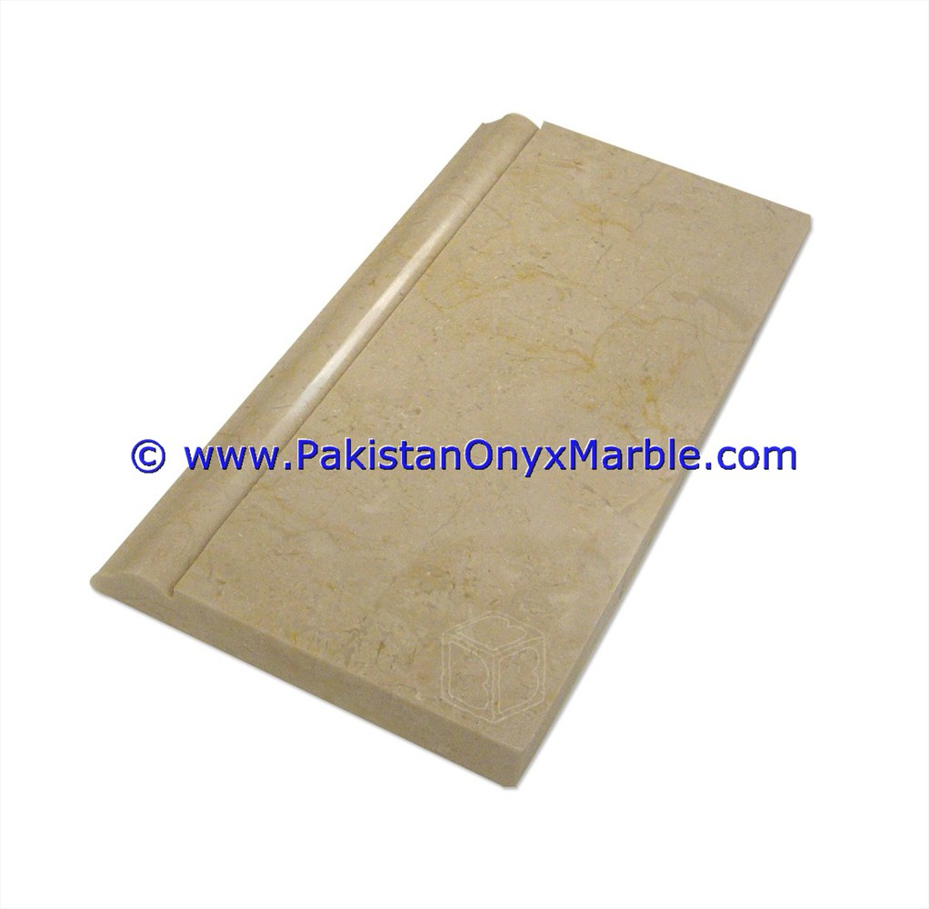 Marble molding baseboard threshold trim skirting backsplash floor marble molding basebords threshold trim skirting verona sahara beige marble 18 doublecrazyfo Image collections