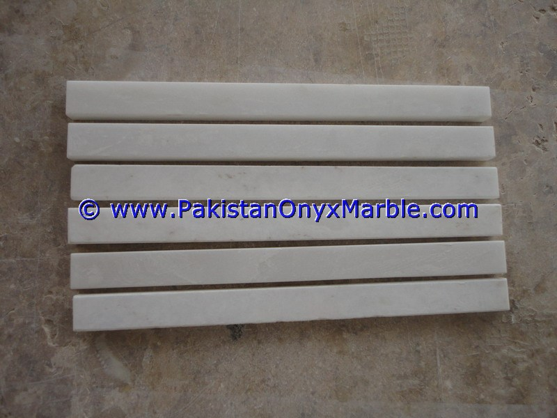 Marble Molding Pencil Liner Rail Decorative Bullnose Trim
