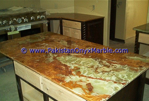 Onyx Marble Countertops : Pakistan multi green onyx countertops emerald