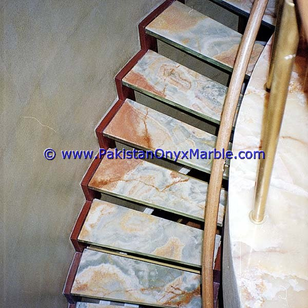 Onyx Stair Steps, Onyx Treads and Risers