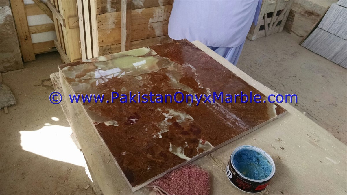 multi red onyx Table Tops e